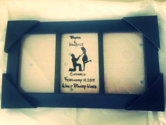 mickey ears engagement frame