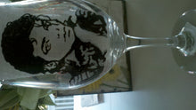 decorative michael jackson hand painted glass fathers day wedding