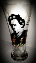 bruce springsteen the boss hand painted glass cups  tumbler