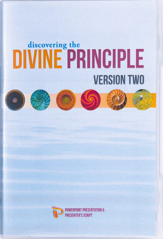 Discovering the Divine Principle Presentation Materials