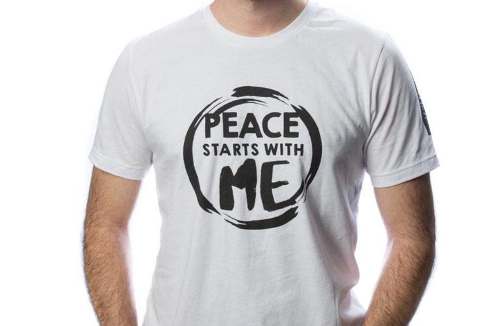 Peace Starts With Me T-shirt featuring Hyojeong