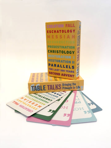 Table Talks Card Game: Bringing the Principle to Life