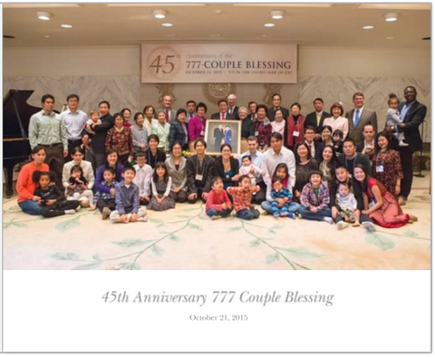 45th Anniversary 777 Couple Blessing Photobook