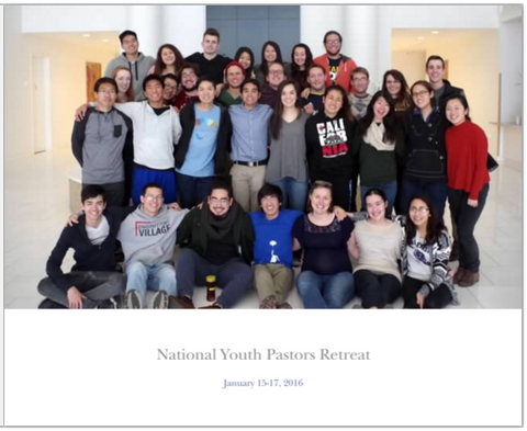 National Youth Pastors Retreat 2016 Photobook