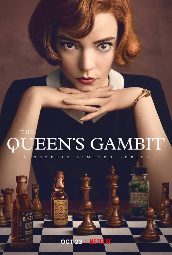 THE QUEENS GAMBIT