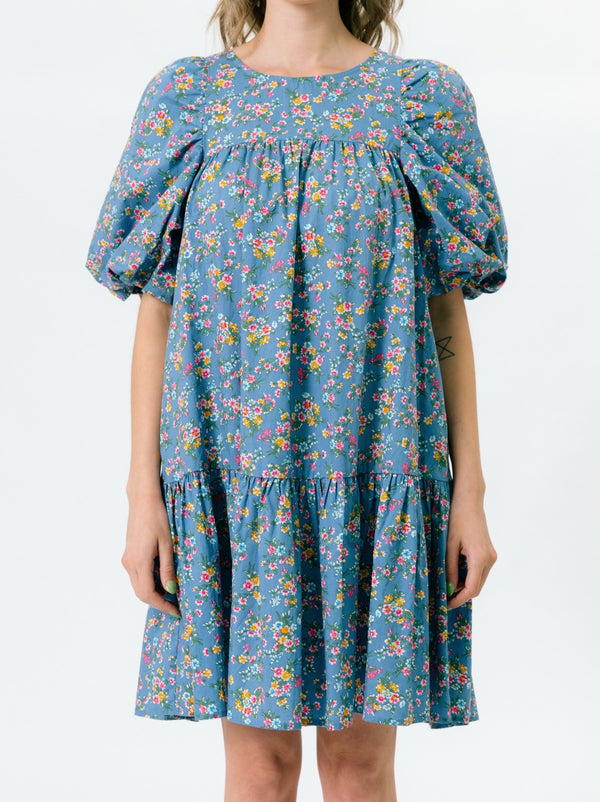 Meredith Poplin Dress