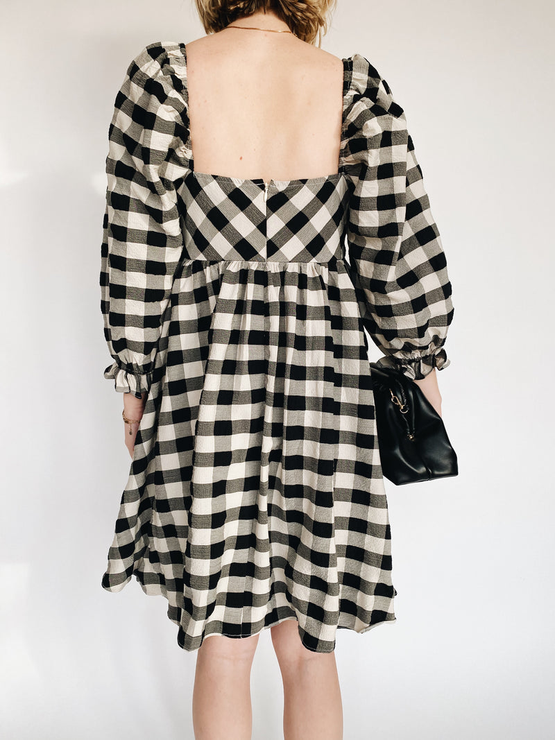 Beth Check Dress
