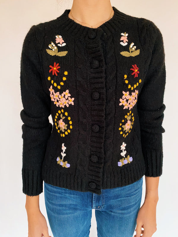 Nicola Embroidered Cardigan