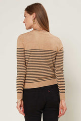 Amelia Striped Cardigan