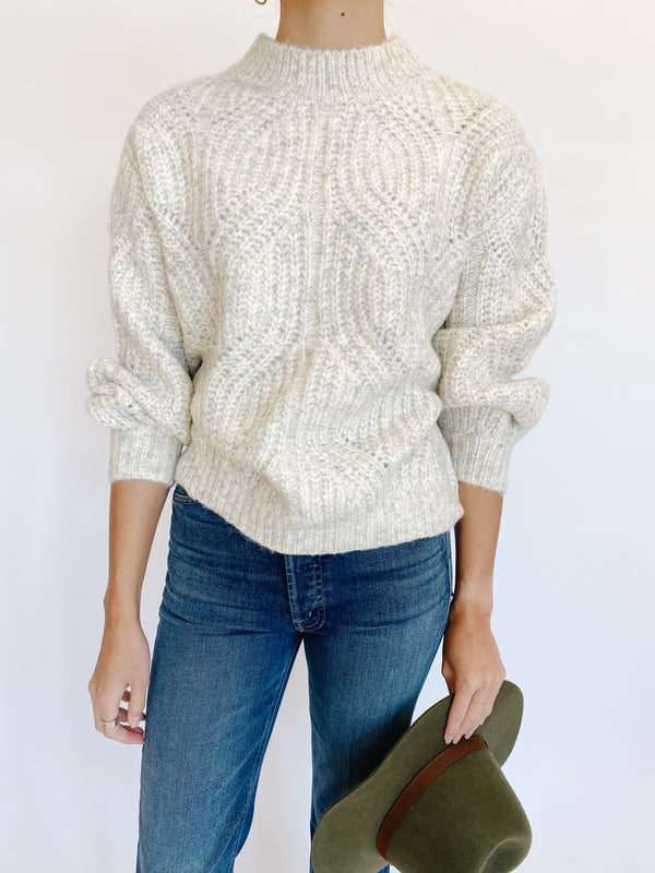 Sweet Cream Knit Sweater