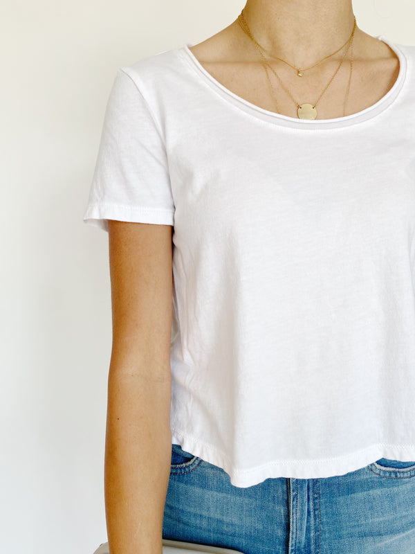 Cloud Crop Tee