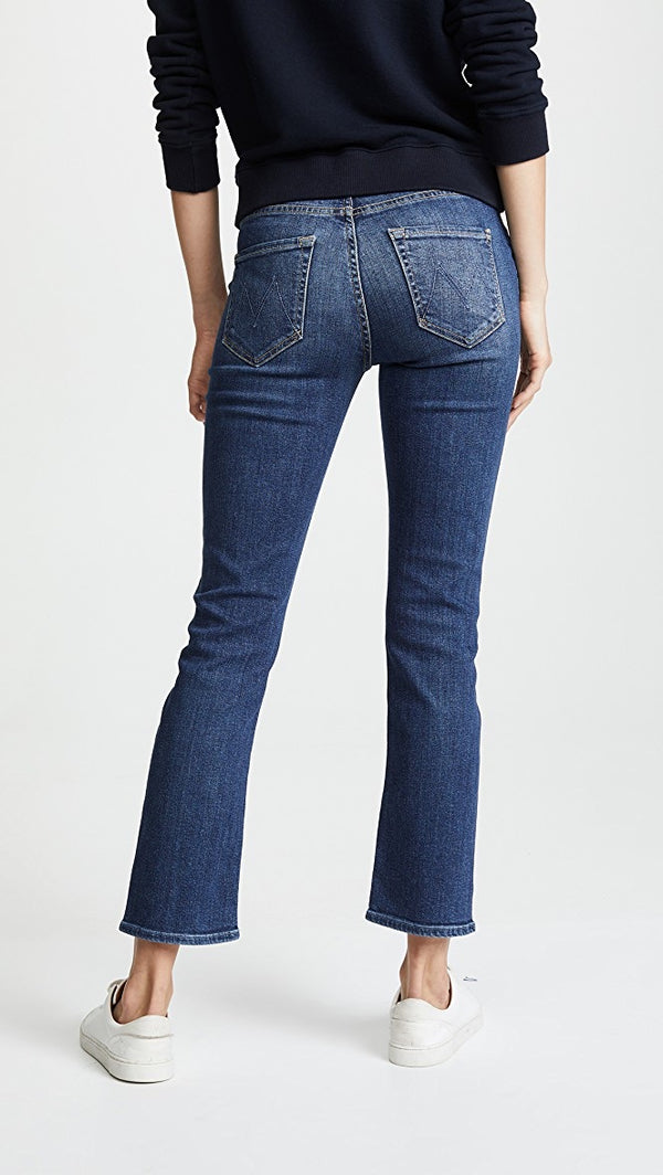 Mother Denim Mid Rise Dazzler- Pardon My French