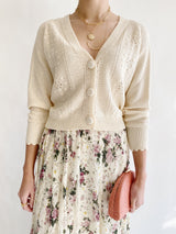 Cambridge Cream Cardigan