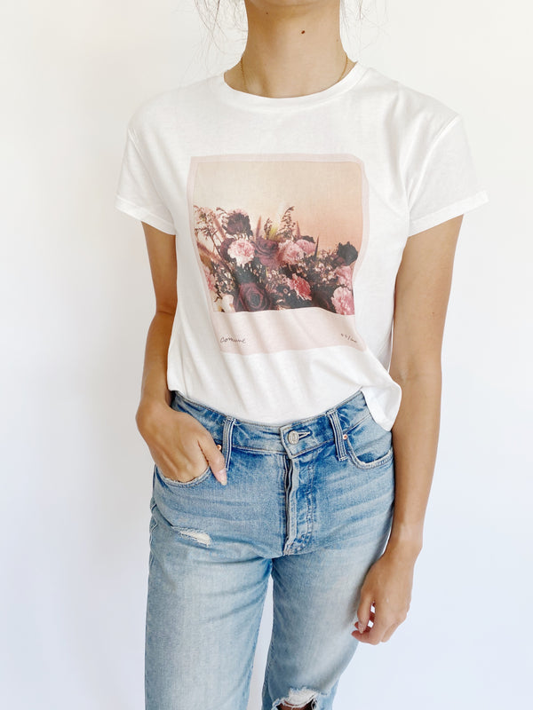 Polaroid Flowers Tee