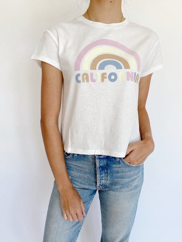 California Rainbow Tee