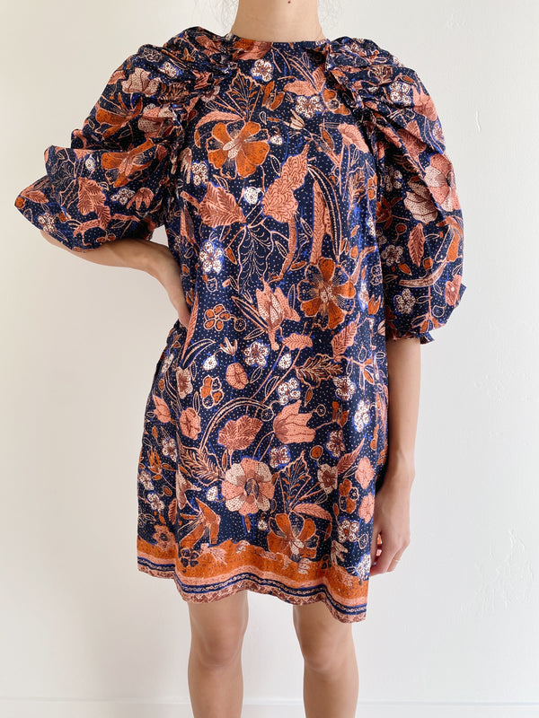 Ulla Johnson Devya Dress in Midnight Floral