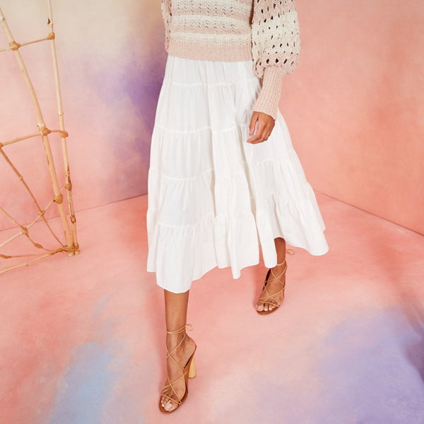 Ulla Johnson Sylvie Skirt - White