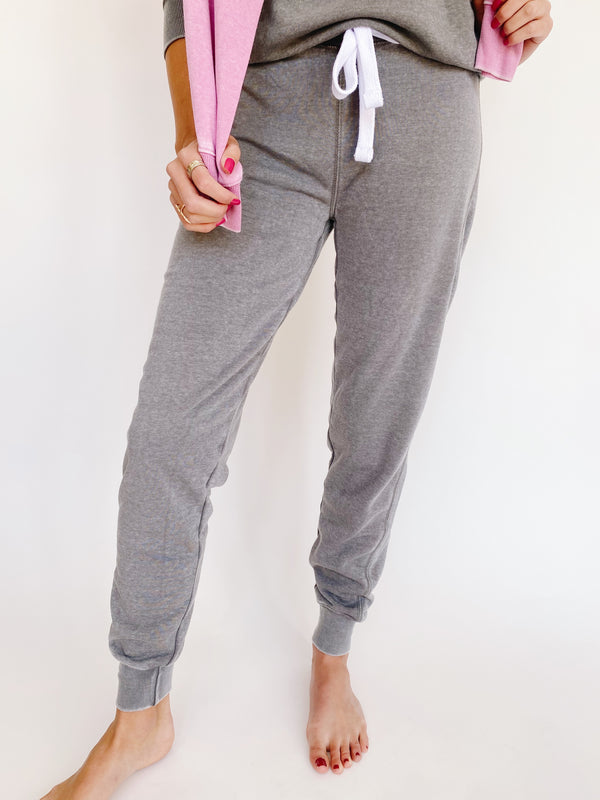 Taylor Joggers in Stone