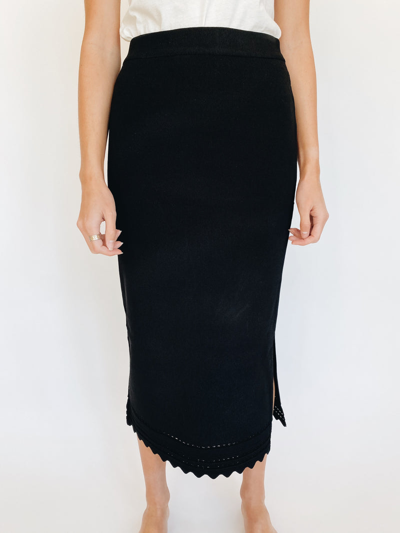 Sadie Black Skirt