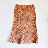 Geoprint Slip Skirt