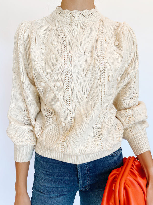 Eleanor Pom Sweater