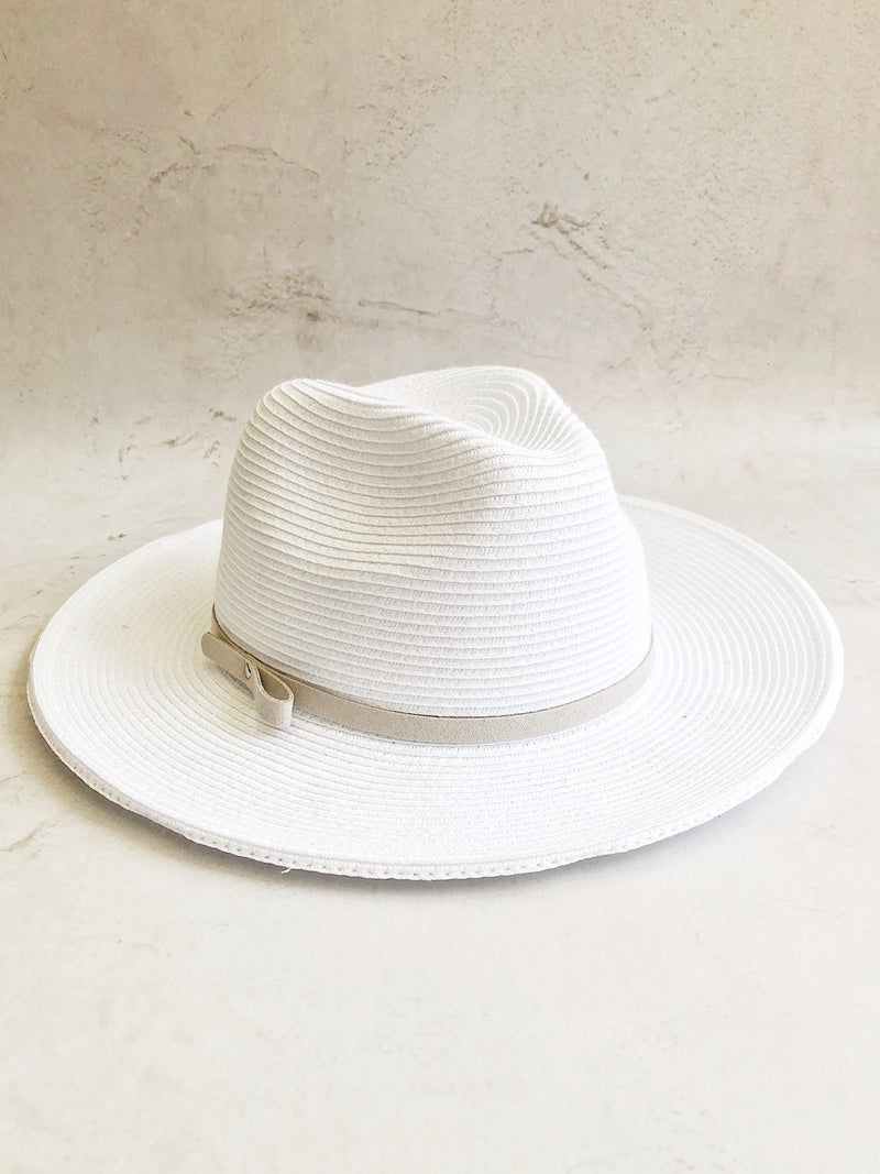 Bre Sun Hat - White