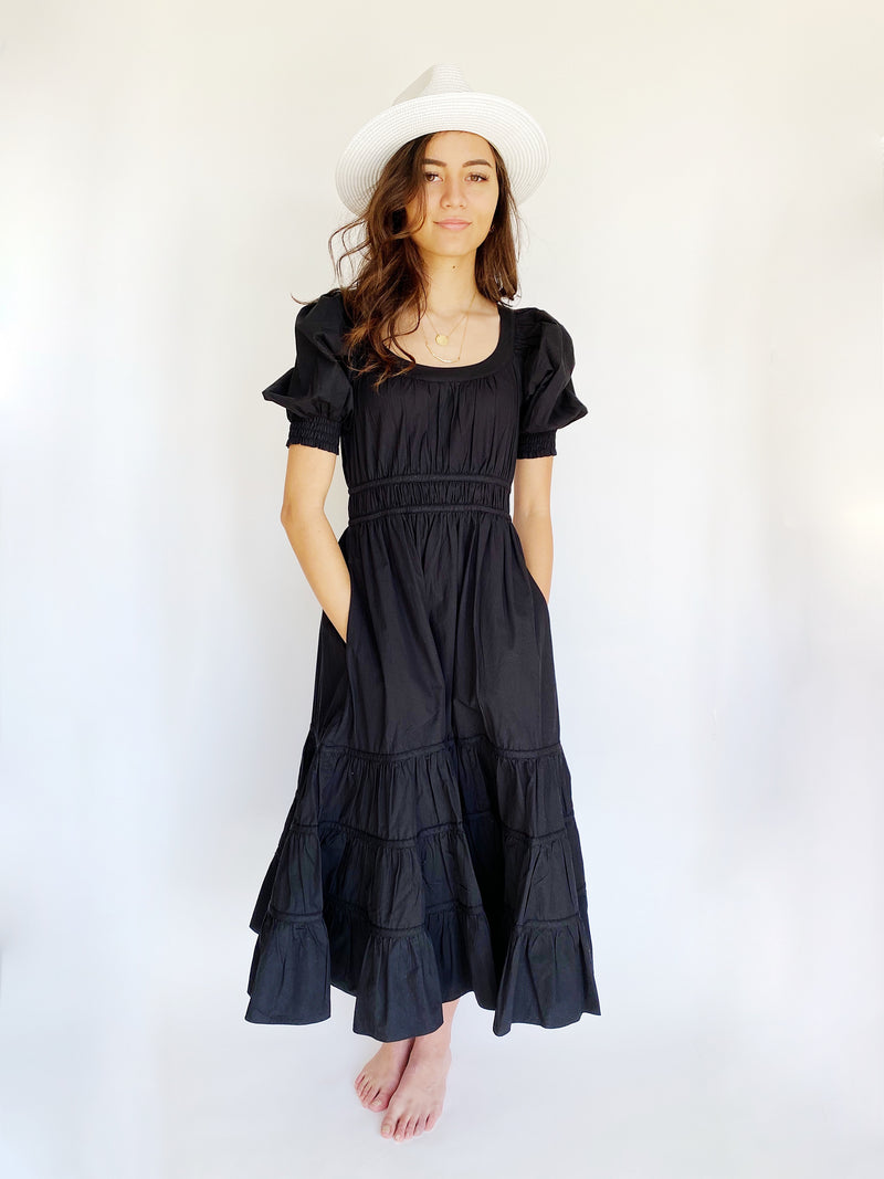 Ulla Johnson Juniper Dress - Black