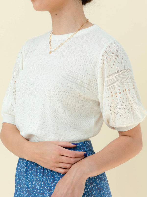 Isla Knit - White