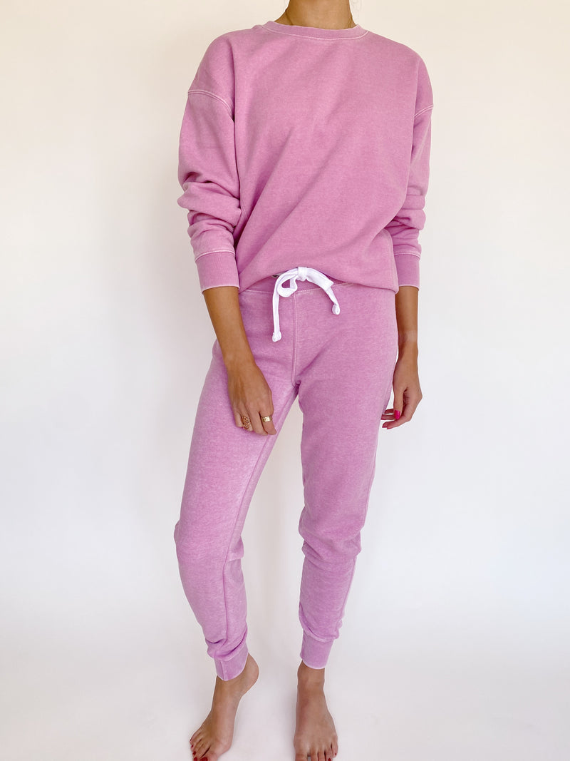 Taylor Joggers in Orchid