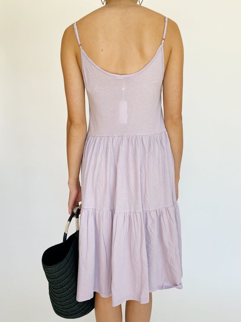 Lavender Tiered Dress