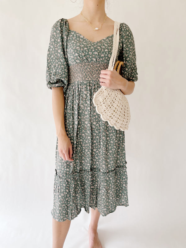 Fairgreen Smocked Dress