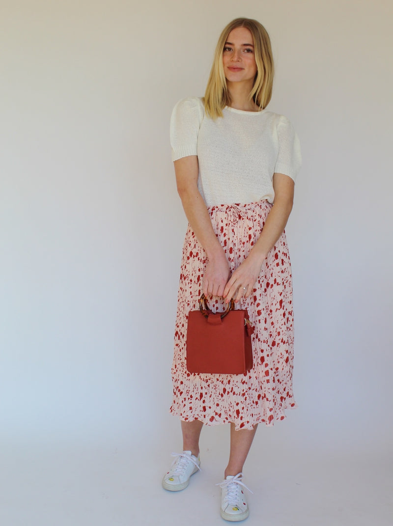 Red Poppy Skirt