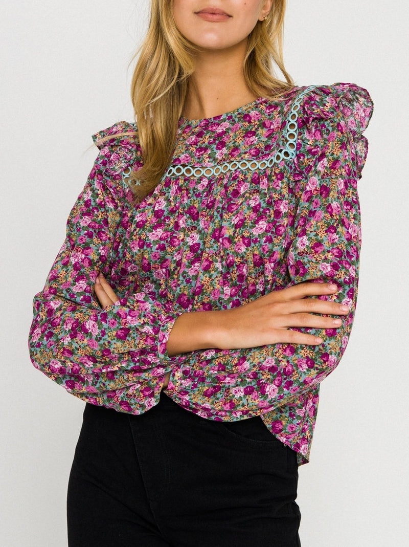 Rosemary Floral Blouse