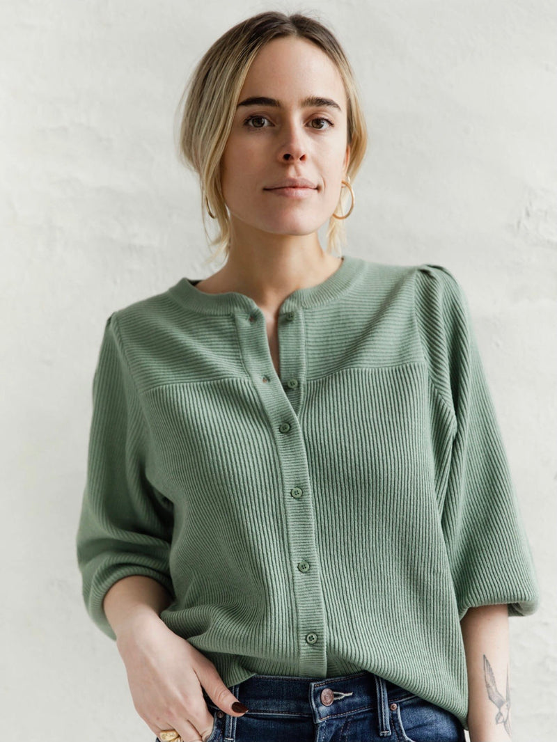 Sea Glass Green Cardigan