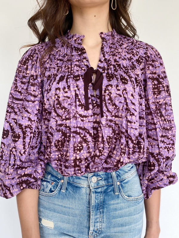 Ulla Johnson Jamila Blouse - Lavender