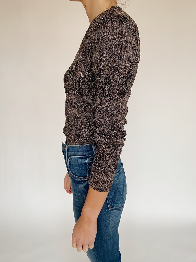 Metallic Lurex Sweater
