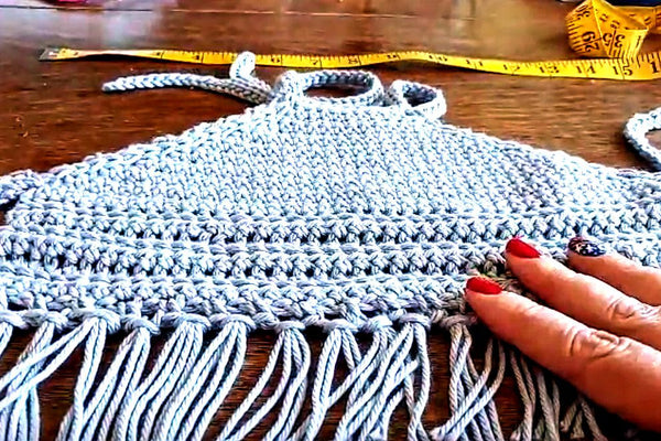 How to Crochet a Halter Top, Video Tutorial