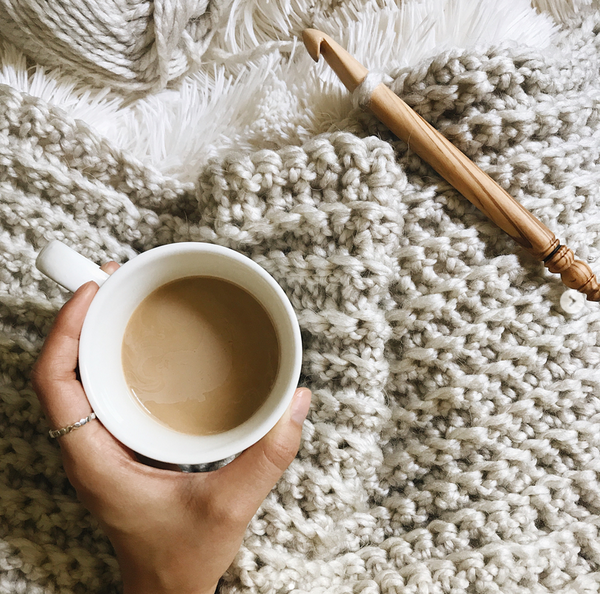 How to crochet a blanket with Brenna Ann
