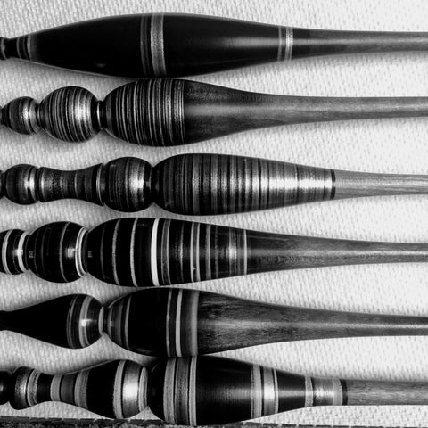 Maker 37 wood crochet hooks