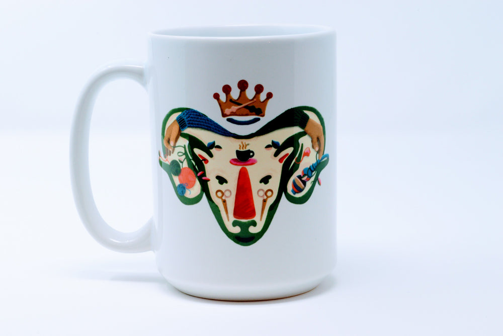 ramapalooza mug  (tall-15 oz) - Adze Woodcraft and Sundry
