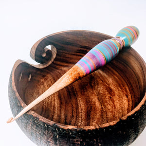 maker 37 wood crochet hook