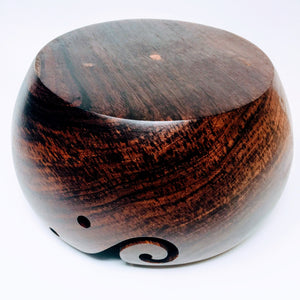 Kahiko Rosewood Yarn Bowl - Adze Woodcraft and Sundry
