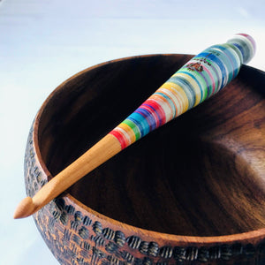 wood crochet hook