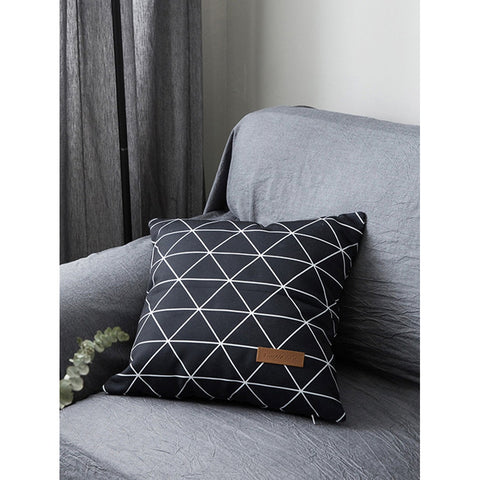 Geo Print Pillowcase Cover - INspira Collection (45cm x 45cm)