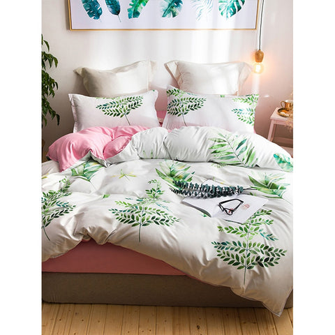 Leaf Print Sheet Set - BeddINg Collection