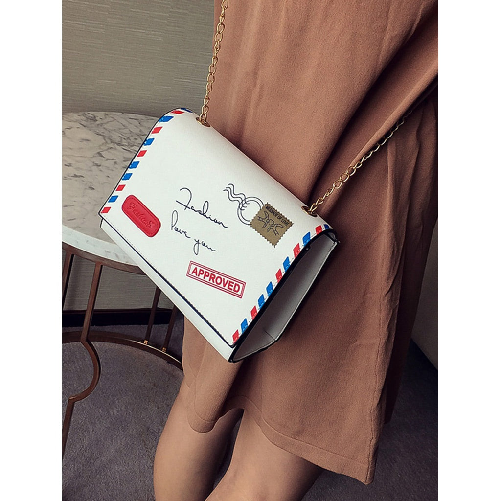Envelope Cutie Flap Bag