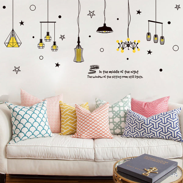 """Iluminate"" vintage wall stickers - INwall Collection"