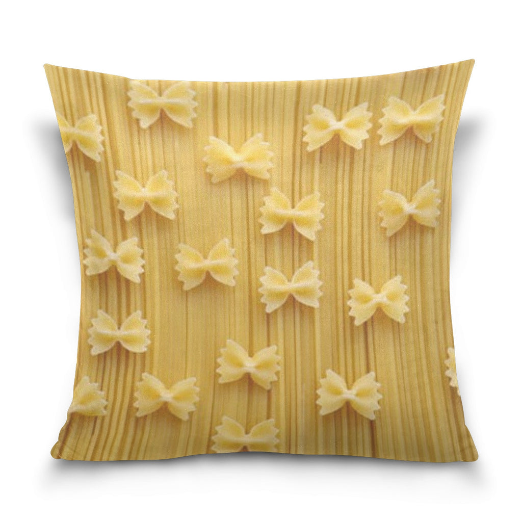 """Pasta"" Pillow Cover (multiple sizes) - INventive Collection"