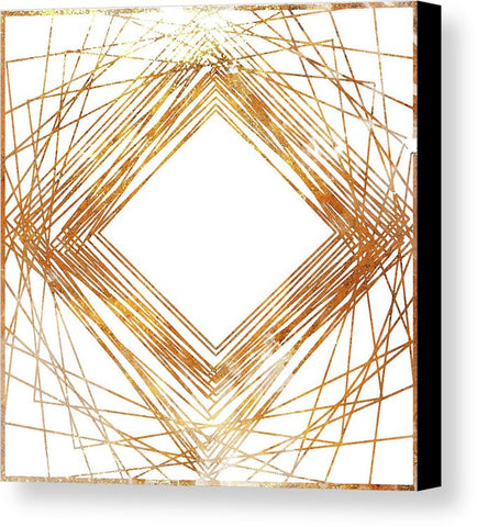 """Gold Diamond"" Canvas Print (Multiple Sizes) - INspira Collection"