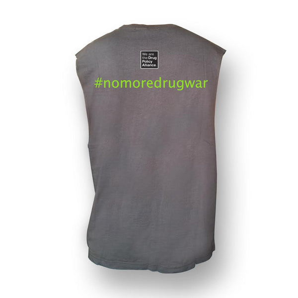 Party Safer Charcoal Unisex Tank